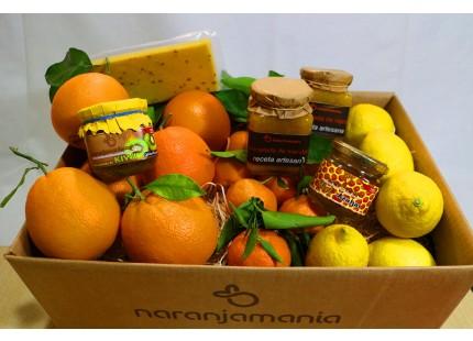 Cesta Navidad Naranjamania nº 4