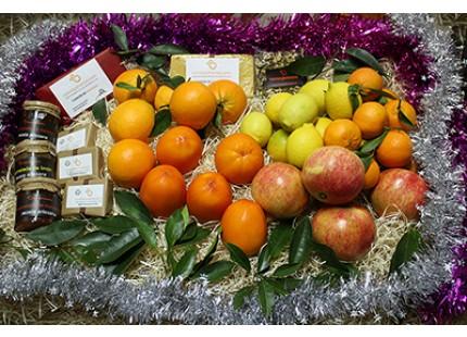 Cesta de Navidad Naranjamania 15kg.
