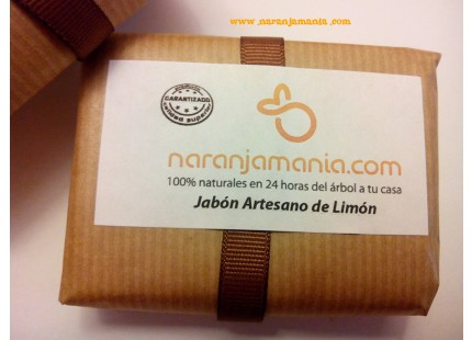 JABON NATURAL DE LIMON 100Grms.