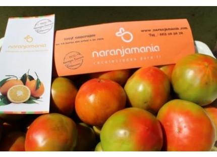 Caja Mixta 9kg de Naranja Mesa (7kg) +  Tomate Valenciano (2kg)✔