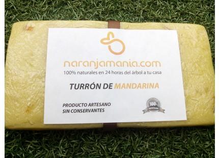TURRON ARTESANO DE MANDARINA 250grms