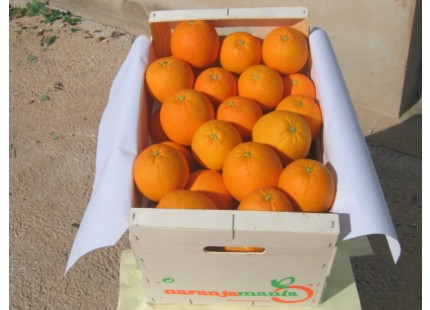 Caja Mixta 15kg de Naranja Zumo (10kg) +  Tomate Valenciano (5kg)