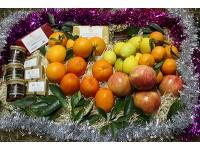 Cesta de Navidad Naranjamania 9kg
