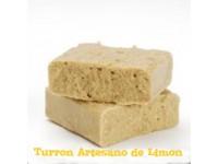 TURRON ARTESANO DE LIMÓN 250grms