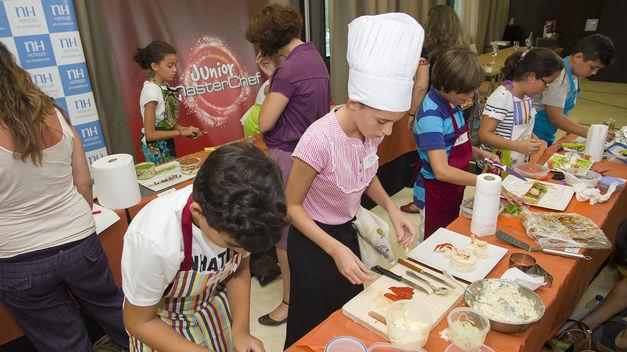 Cocina de Master Chef Junior