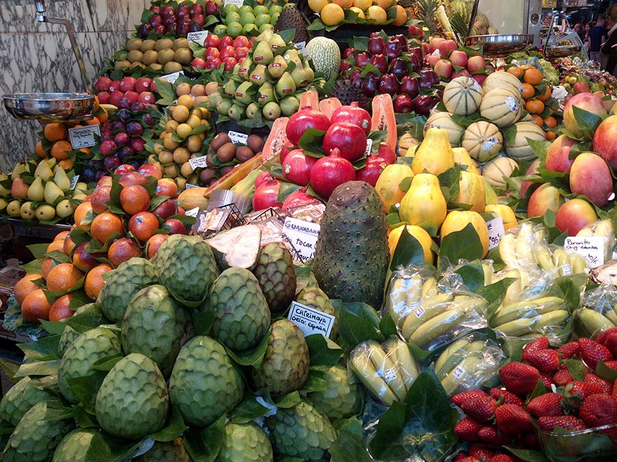 Exposición de Fruta Exótica