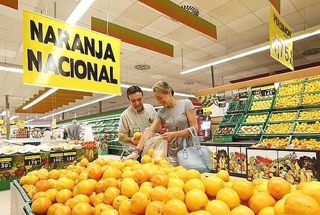 naranja de comercio