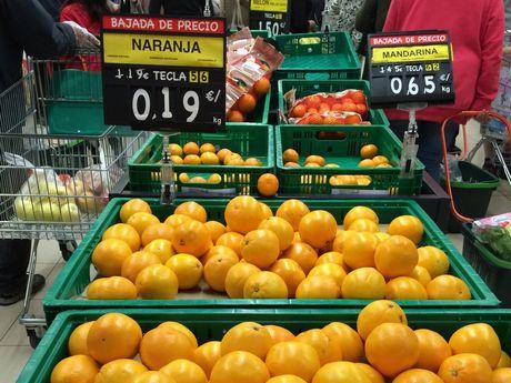 naranjas que no cobra el agricultor
