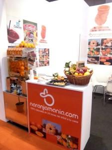 Stand Naranjamania en Alimentaria 2016