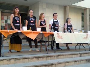 Jurado del IV concurso mundial de tomate valenciano